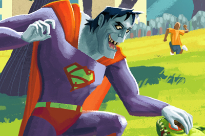 <span>Character Design, Illustration</span>Bizarro Superman